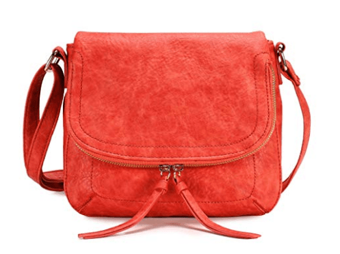 Scarleton Trendy Zip Flap Crossbody Bag