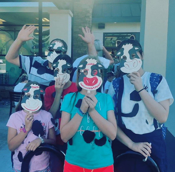 Cow Appreciation Day at Chick Fil A
