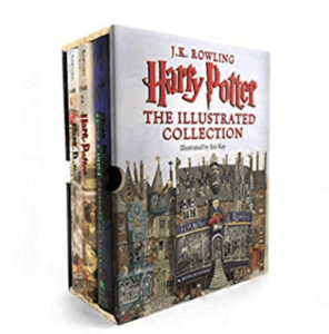 Harry Potter Illustrated Edition Box Set