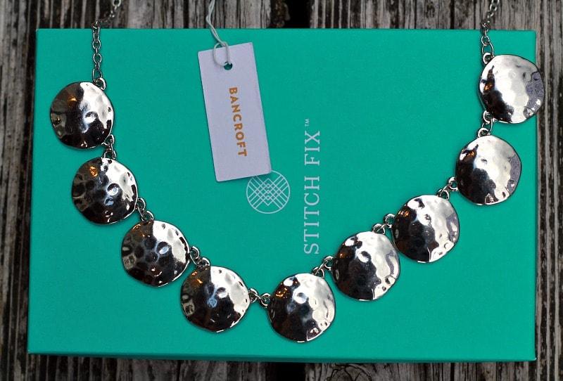 Stitch Fix Silver Necklace
