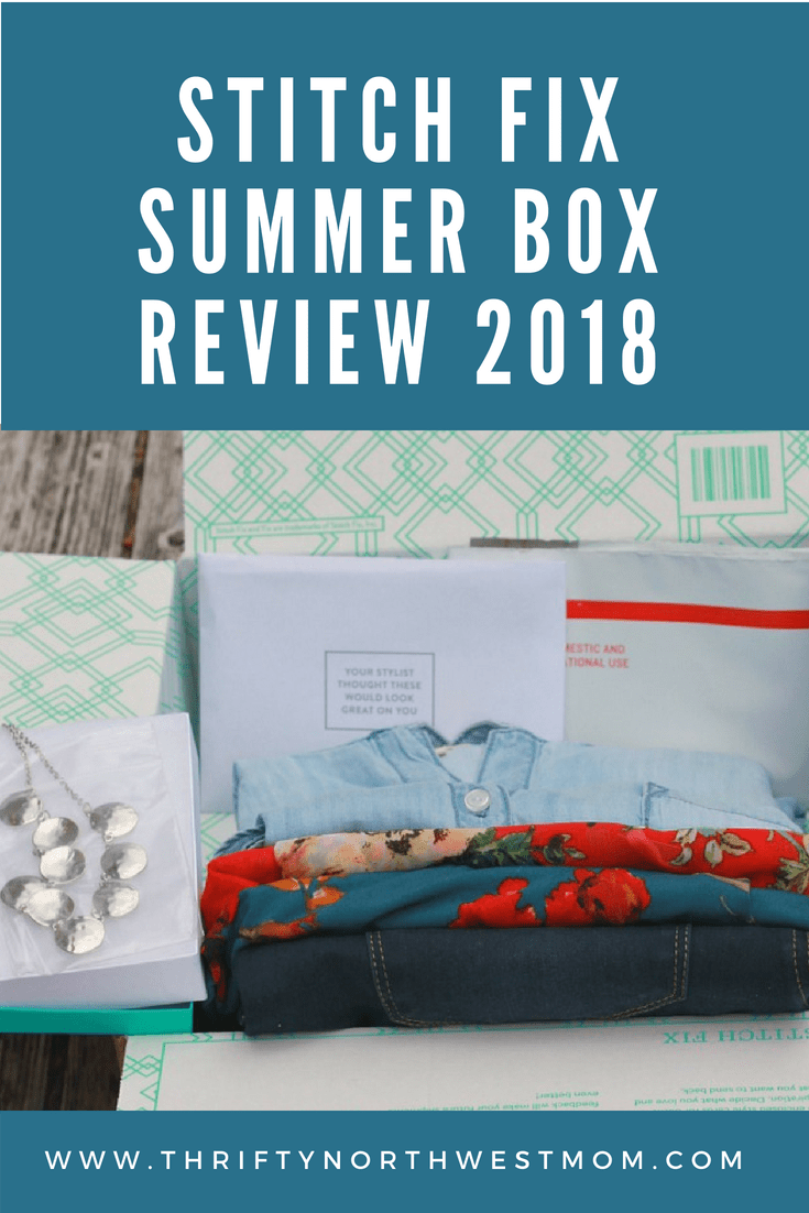 Stitch Fix Summer Box Review for 2018