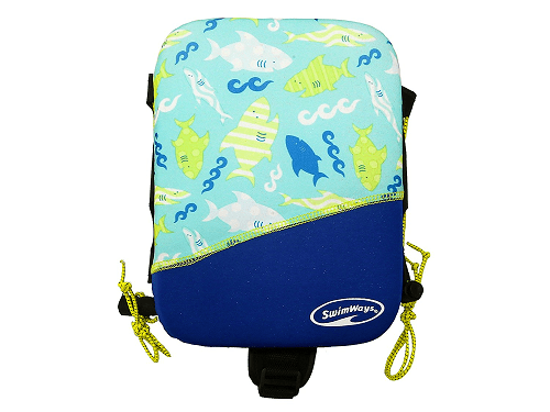 SwimWays Power Swimr, Medium, Blue Shark