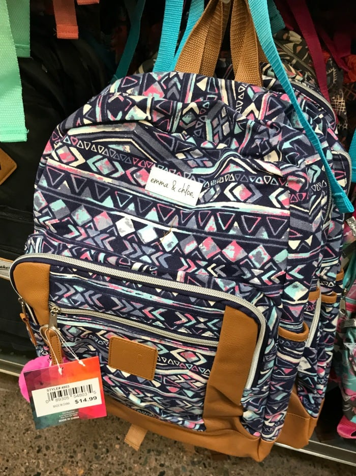 Teen GIrls backpack at Fred Meyer