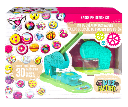 The Badge Factory Badge Pin Design Kit