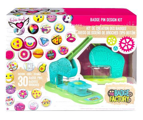 The Badge Factory Badge Pin Design Kit $17.98 (Reg $29.99)