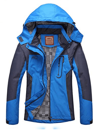 Women's Hooded Waterproof Jacket