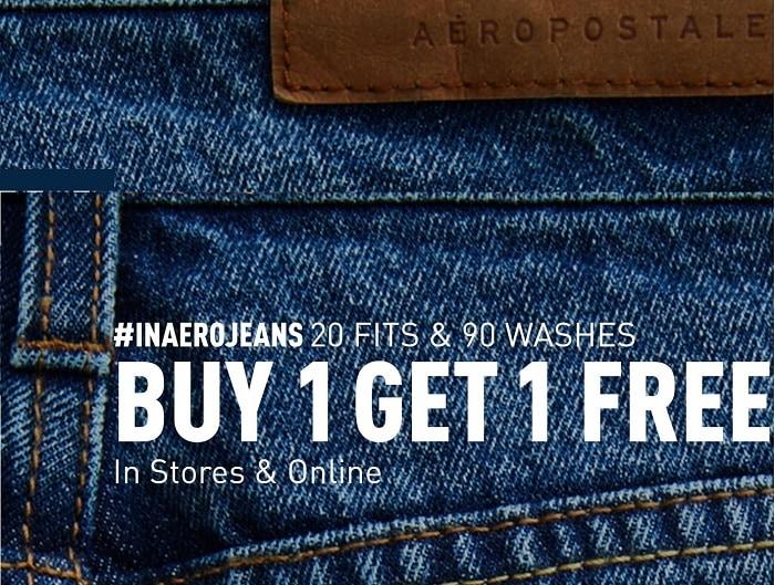 Aeropostale Jeans BOGO Free + Free Shipping Today