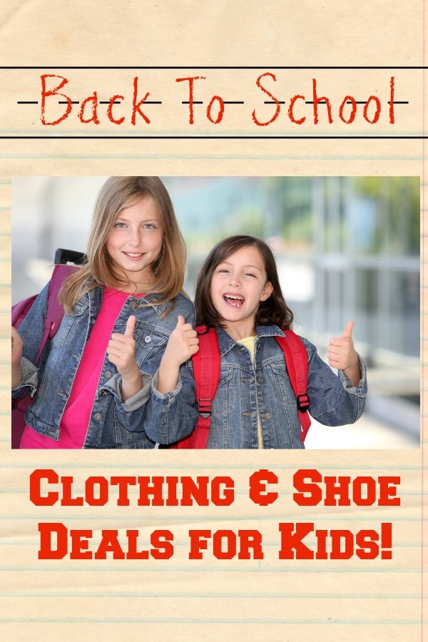 Back To School Clothes Sales Thrifty Nw Mom