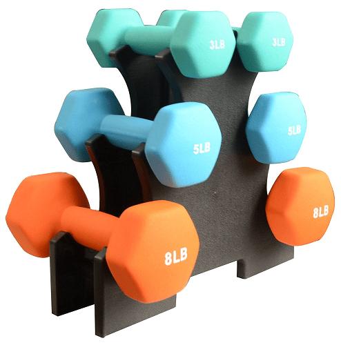 BalanceFrom GoFit All-Purpose Dumbbells Set