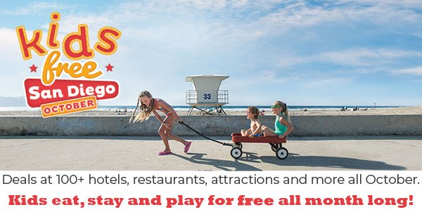 Kids Free October: San Diego Offers Free Kids Tickets To Attractions & More!