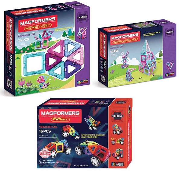 Magformers On Sale – Up To 68% On Amazon Today!