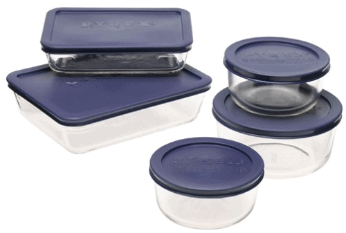 PYREX 10-pc Storage Set