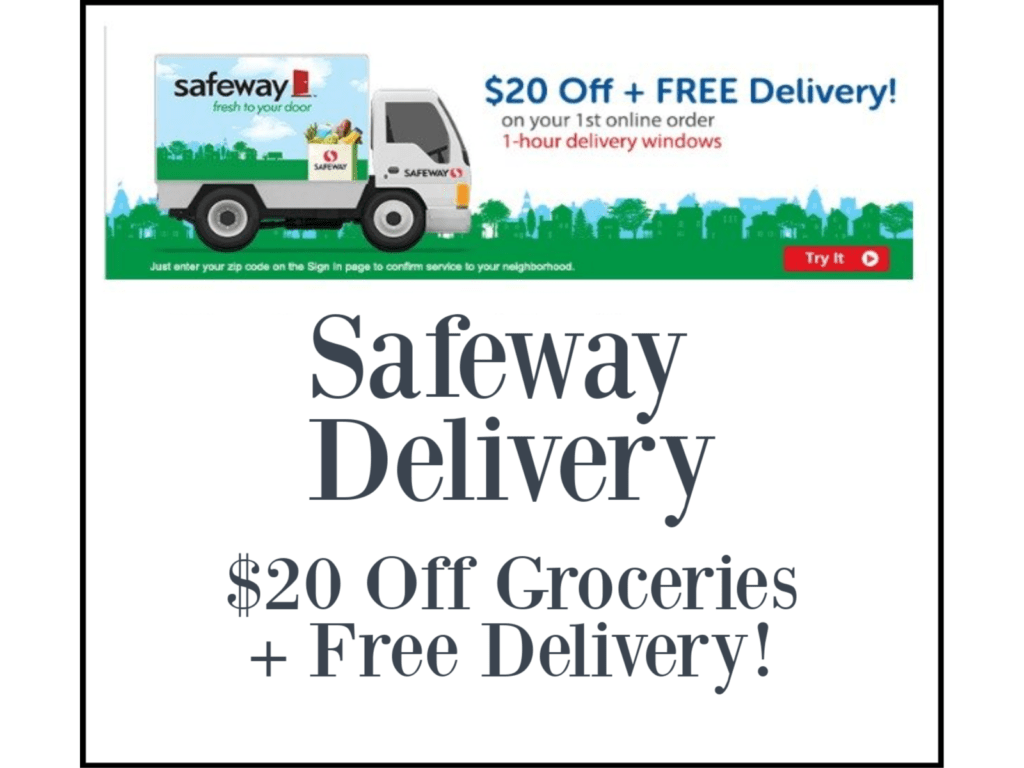 Safeway delivery and pick up services