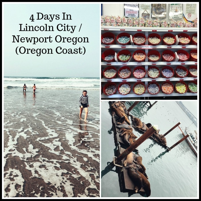 Explore Lincoln City and Newport Oregon with Kids