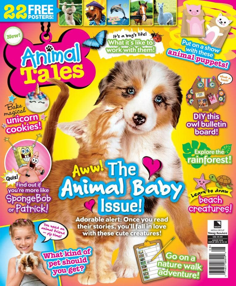 Animal Tales Magazine Subscription Deal - 53% Off Right Now!