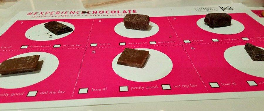 Chocolate Tasting at Experience Chocolate Tour