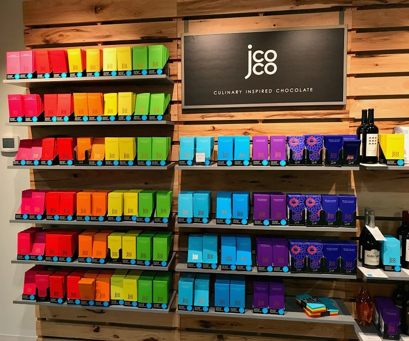 Jcoco culinary inspired chocolate from Seattle Chocolate