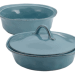 Rachael Ray Cucina Stoneware 3-Piece Round Casserole