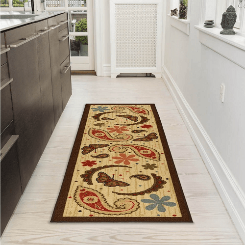 Runner Rug with Rubber Backing