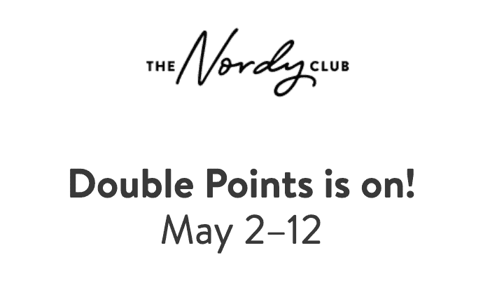Nordstrom Double Rewards