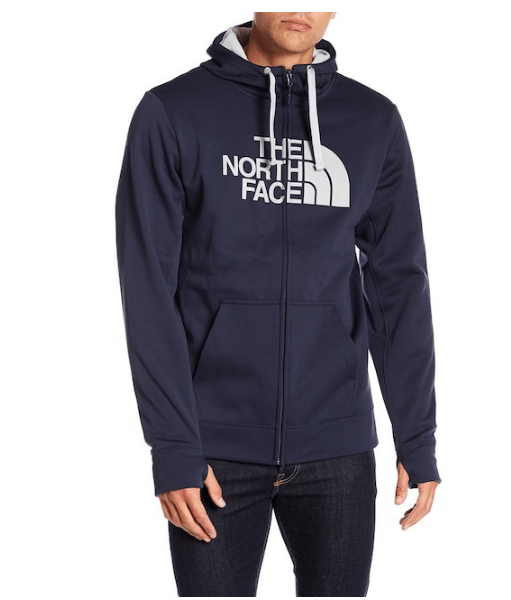 The North Face Surgent Graphic Zip Up Hoodie