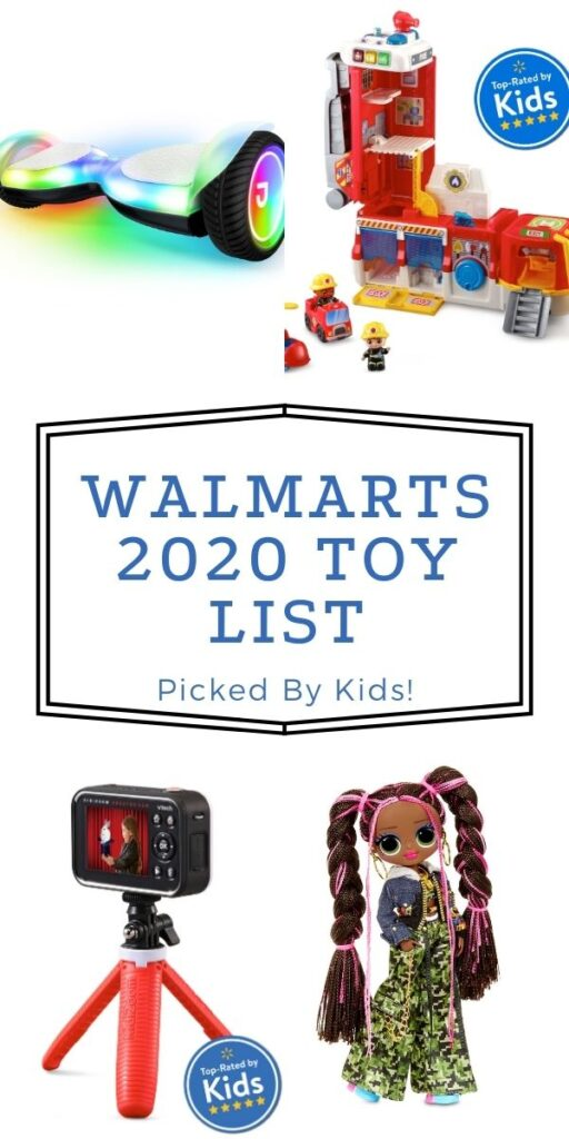 Walmart Top Toys for Christmas 2020 (Kid Approved)