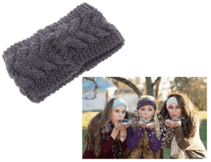 Crochet Twist Headband Ear Warmer