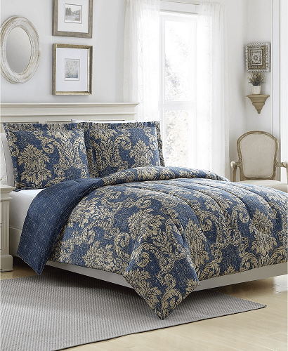 Ellison First Asia New Traditional Reversible 3-Pc. Comforter Sets $19.99 (Reg $80)