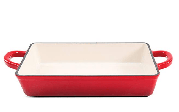 Enameled Cast Iron Lasagna Pan