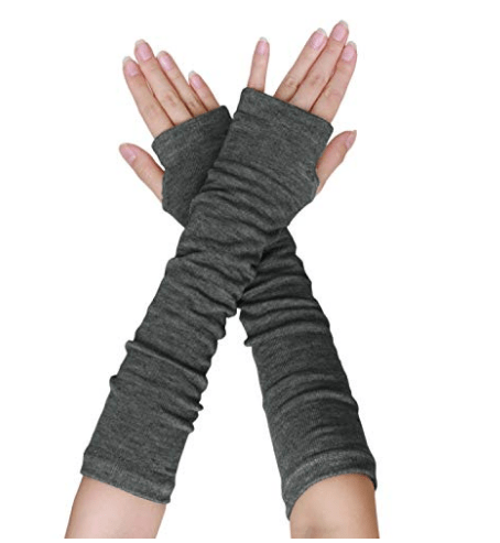 Fingerless Arm Warmer Gloves