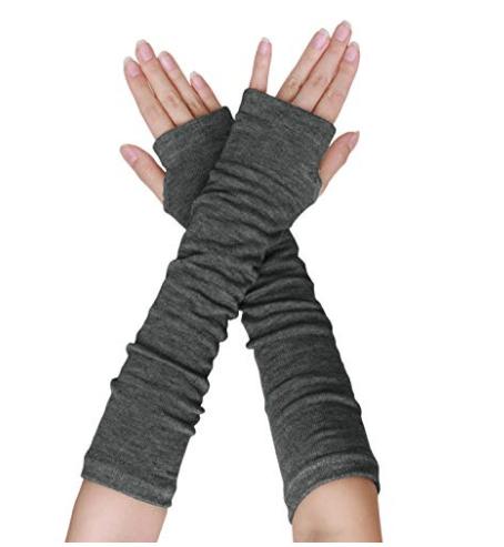 Fingerless Arm Warmer Gloves