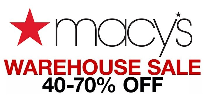 Macy's Warehouse Sale – Save Up To 70% Off Thousands of Items!