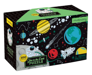 Outer Space 100-Piece Glow-in-the-Dark Puzzle