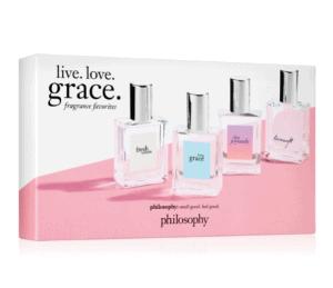 Philosophy Live. Love. Grace. Fragrance Favorites