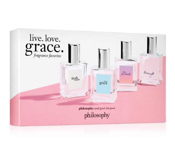 Philosophy Live. Love. Grace. Fragrance Favorites