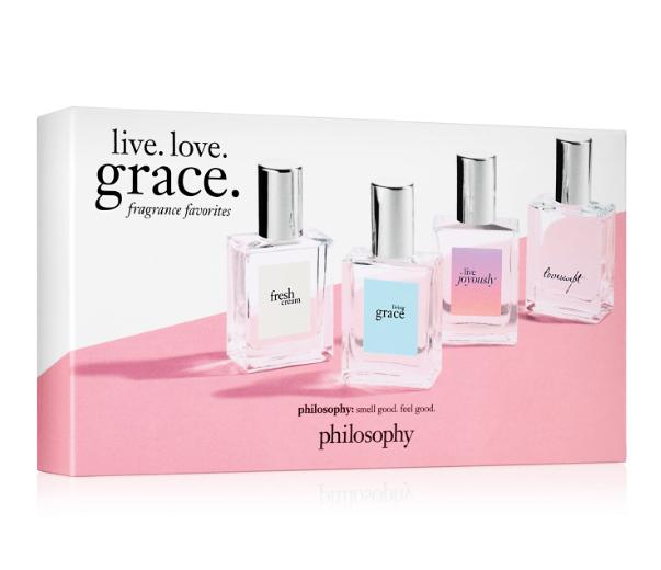 Philosophy Live. Love. Grace. Fragrance Favorites $36.40 (Reg $52)