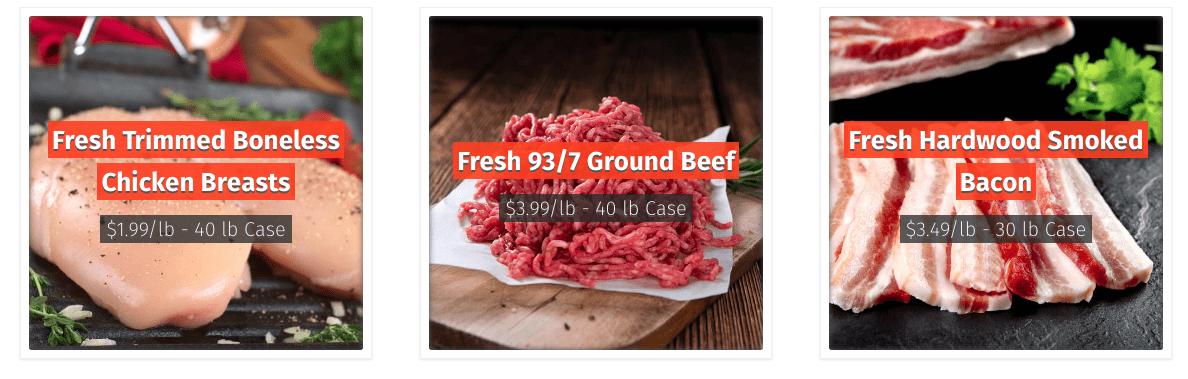Buy Bulk Meat Online - Savory Butcher