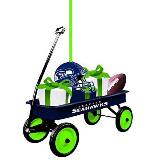 Seahawks NFL Team Wagon Ornament