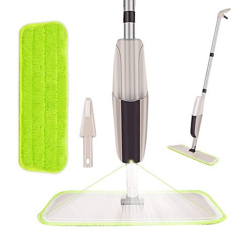 Spray Mop with 2 Washable Microfiber Pads