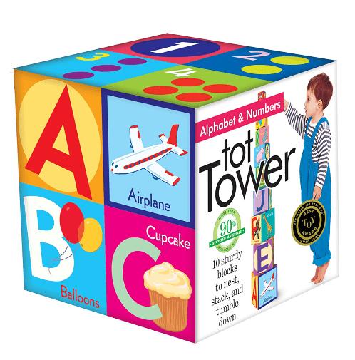eeBoo Alphabet Tower $13.17 (Reg $21.95)