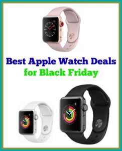 Apple Watch Black Friday Comparison