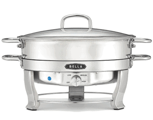 Bella 5-Qt. Stainless Steel Electric Chafing Dish