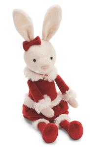 Christmas Small Bitsy Bunny Stuffed Animal