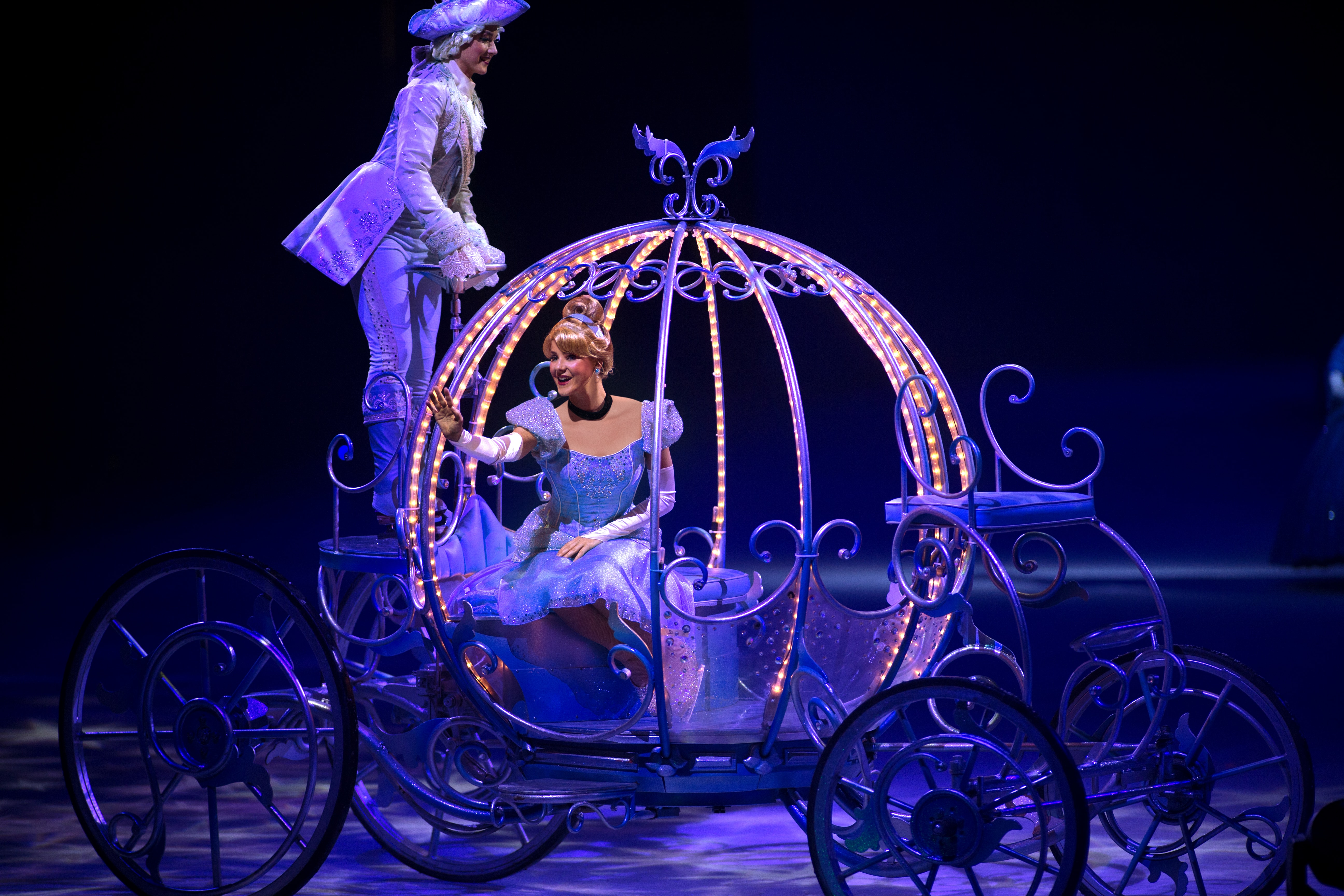 Cinderella at Disney on Ice