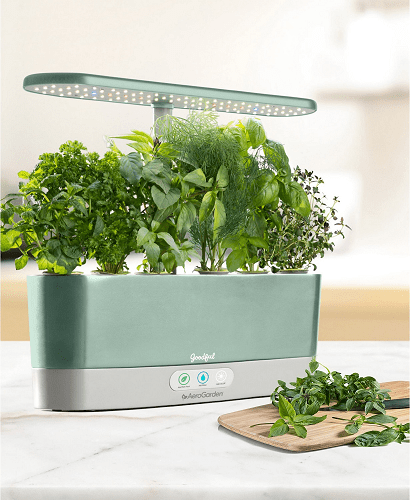 Goodful by AeroGarden Harvest Slim Countertop Garden Gourmet Herbs Seed Kit $69.99 Reg $189