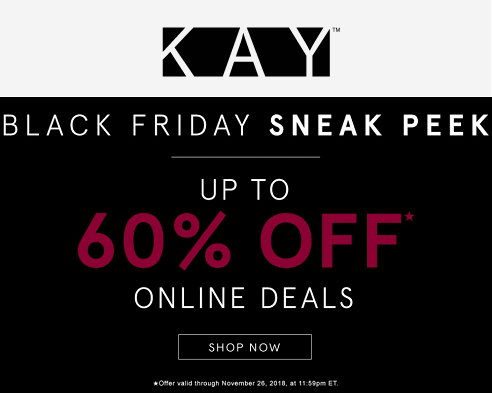 Kay Jewelers Black Friday Sale