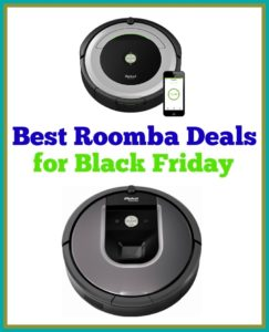 Roomba Black Friday Comparison