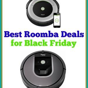 Roomba Black Friday Comparison