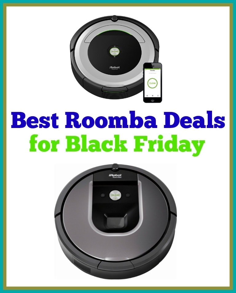 Roomba Black Friday Comparison Where To Find The Best Deal On One Thrifty Nw Mom