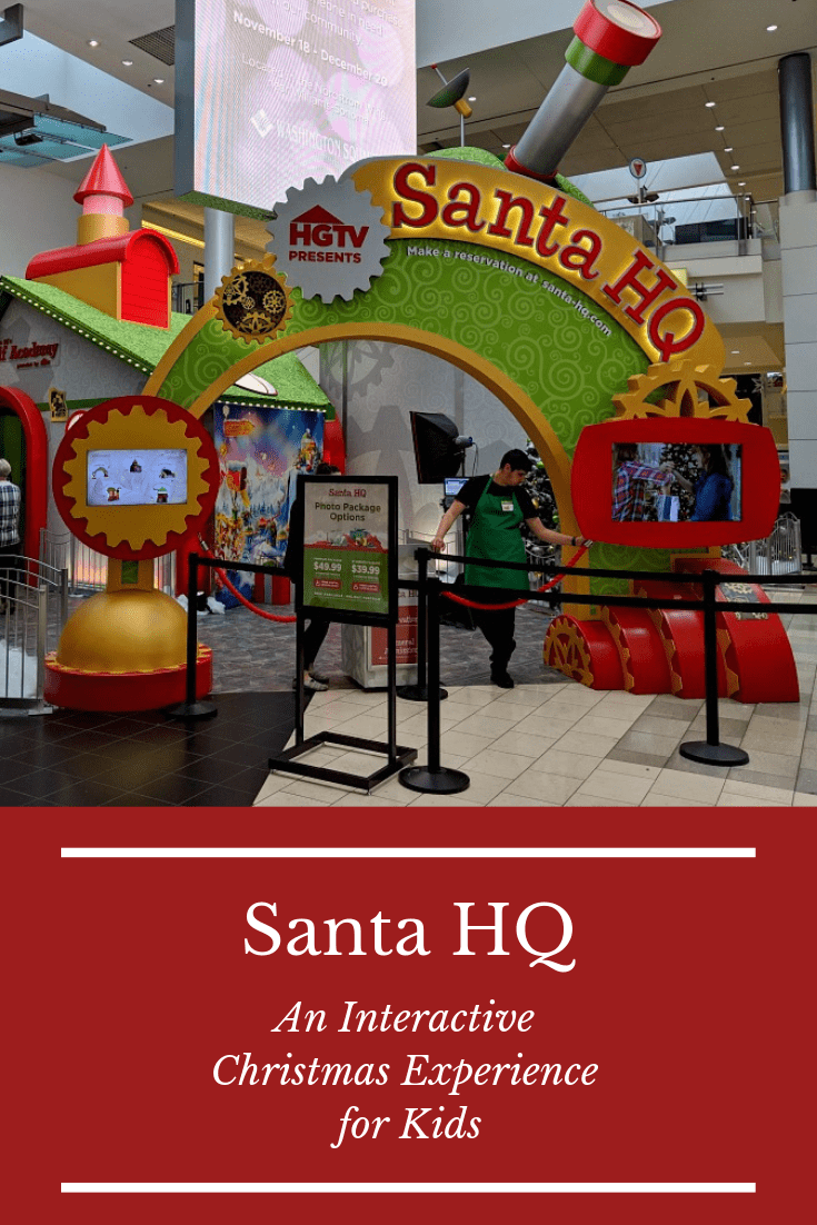 Santa HQ - An Interactive Christmas Experience For Kids